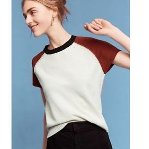 Anthropologie Lili's closet cropped pullover